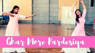 Ghar More Pardesiya Kalank Dance Cover by Bhavini and Sugandha Shreya Ghoshal Alia & Madhuri