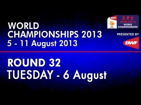 R32 - XD - Xu C./Ma J. vs M.P.Kolding/K.Rytter Juhl - 2013 BWF World Championships