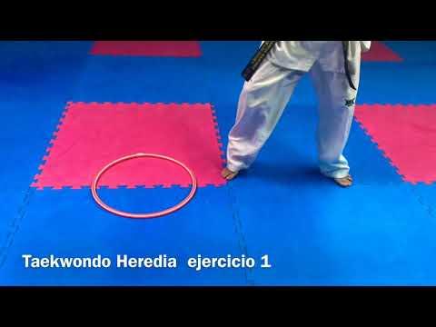 16 ejercicios con aros para el entrenamiento del Taekwondo