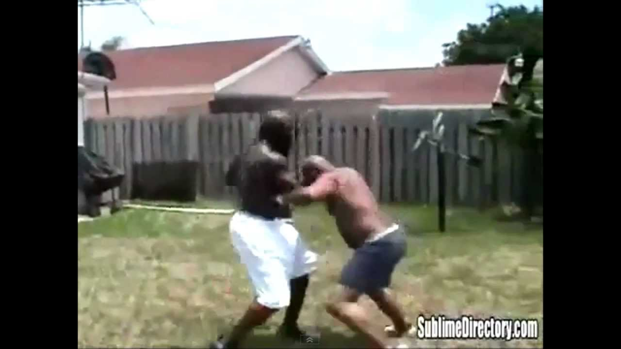 Kimbo Slice Nearly Kills Guy (in the first clip) - YouTube