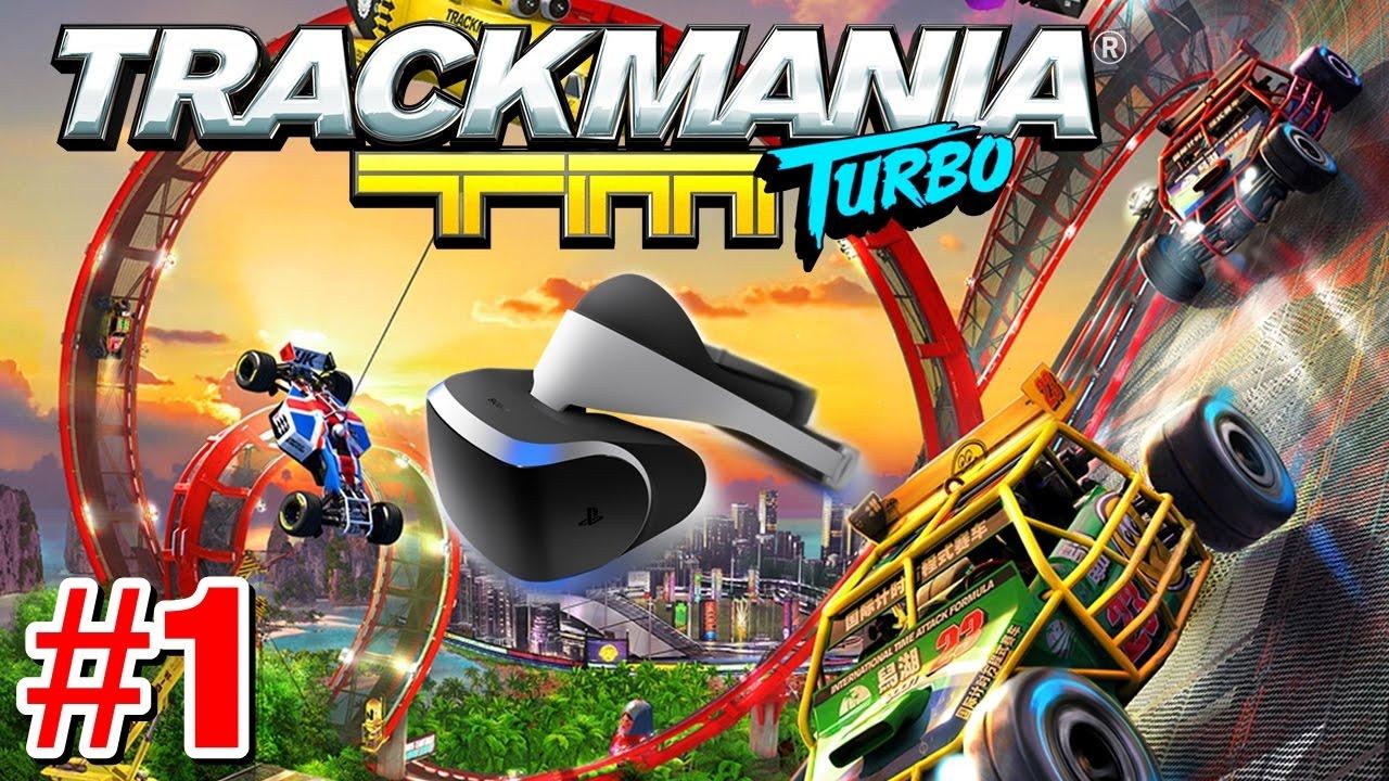 trackmania turbo vr ps4 german let 39 s play 1 magen. Black Bedroom Furniture Sets. Home Design Ideas
