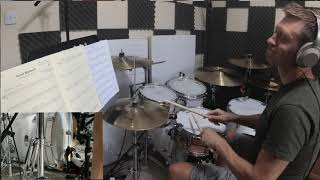 'Sunset Boulevard' Trinity 2020 Drums. New Syllabus. Main Drum Part.