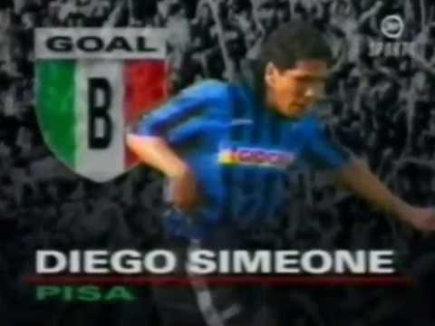 Diego Simeone, sus mejores goles y jugadas