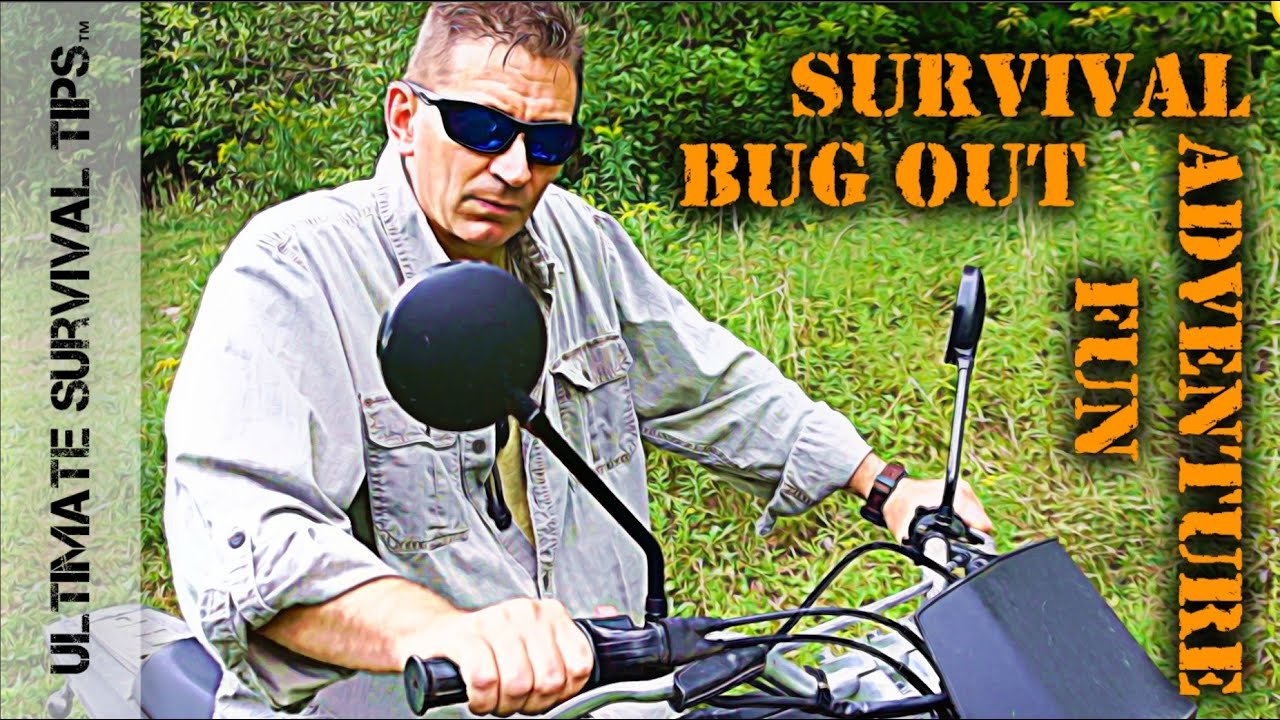 Boss Survival Trailer Bug Out : Best bug out survival motorcycle rider ultimate