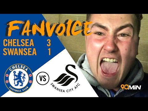 Chelsea 3-1 Swansea | Fabregas, Pedro And Costa Goals See Off Swansea!! | 90min FanVoice