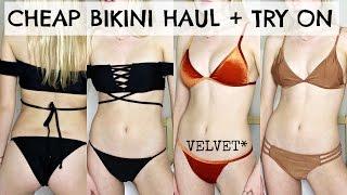 CHEAP & AFFORDABLE BIKINI HAUL + TRY ON / Kallie Kaiser
