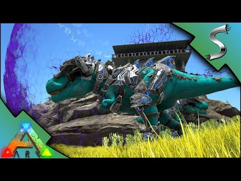 TEK SHIELD BASE RAID! INDUSTRIAL WEAPONS VS TEK TIER! - Ark: Survival Evolved [DEFENDERS]