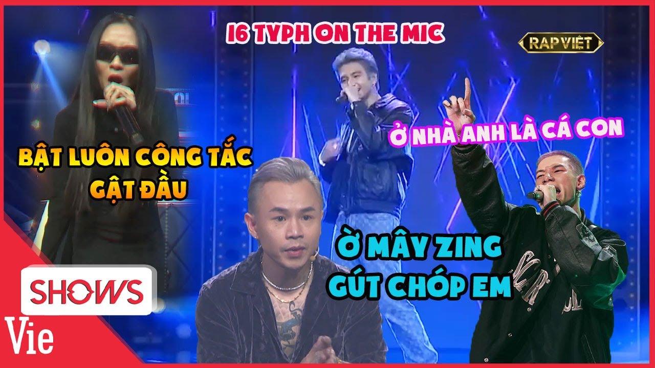 Bộ sưu tập những câu nói TẠO TREND khiến fan Rap Việt replay mỏi tay