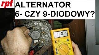 Jak zdiagnozować alternator?