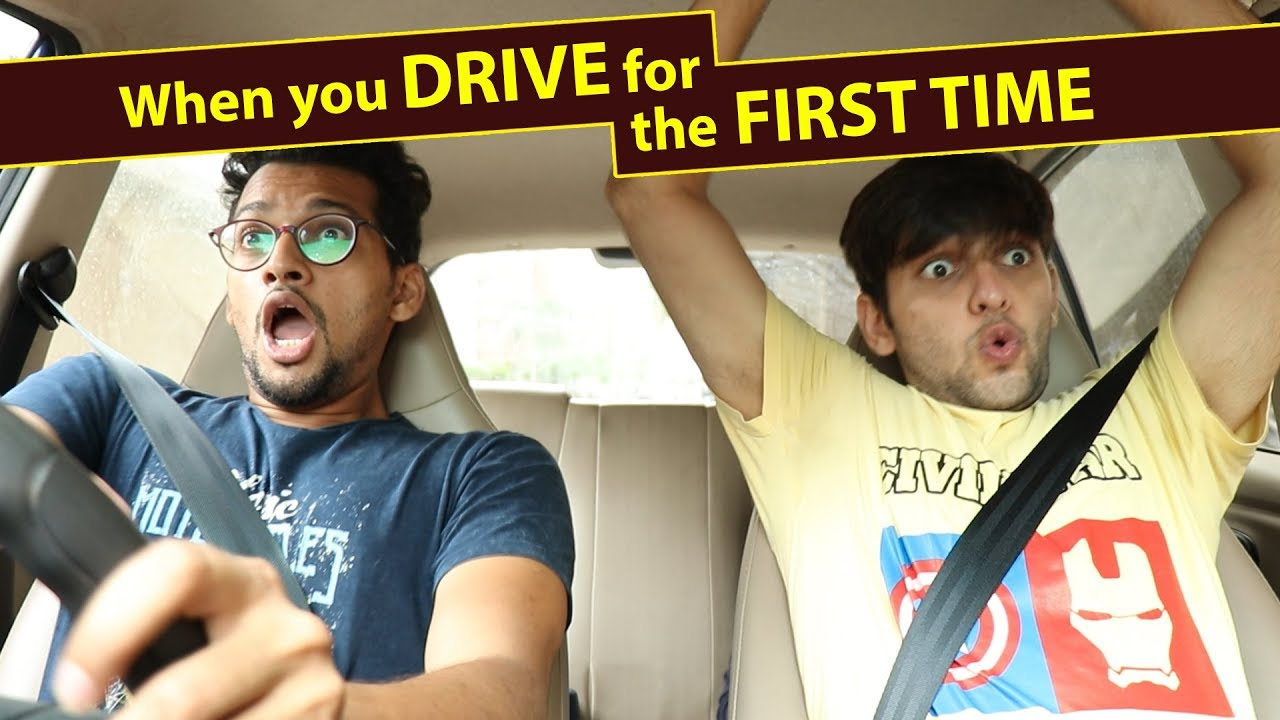 When you drive for the first time | Funcho Entertainment | FC