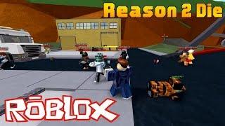 ROBLOX - Una Horda de Zombis Contra los Humanos - Razón 2 Morir