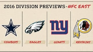 NFC East (2016 Preview)   Move the Sticks   NFL
