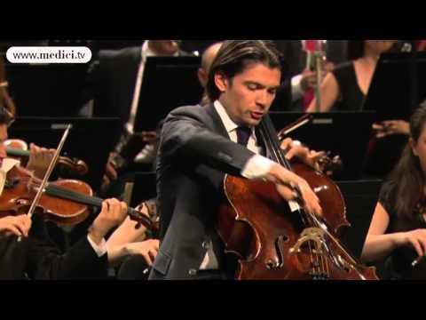 Gautier Capuçon performs Saint-Saëns Cello Concerto at the Verbier Festival