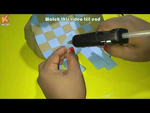 Diy Paper Crafts|Easy Paper Basket Crafts For Kids|How to Make a Paper Basket