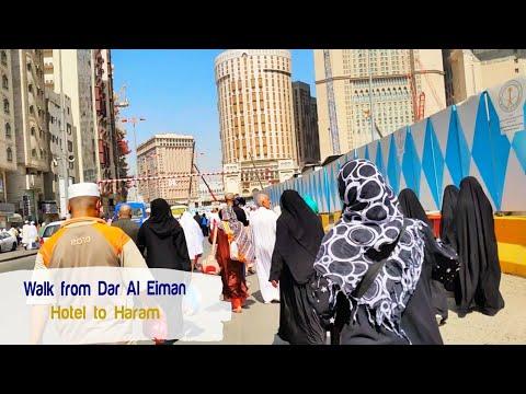 Umrah Walk From Dar Al Eiman Grand Hotel Makkah