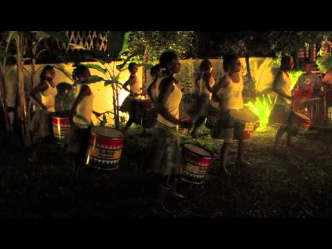 Fantastic drum performance by a girls' group from Madagascar