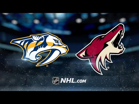 Fischer's OT goal lifts Coyotes to 3-2 win vs. Preds