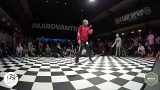 Bgirlsessions bgirl battle 1on1 - prelim - CJ vs Mimmie