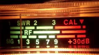 "DESIBELIMETRO "" MIRAGE 9900 CB RADIO CANAL 39 AM"