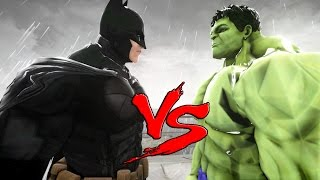 BATMAN VS HULK - EPIC BATTLE