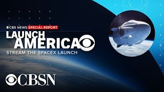 Watch Live: SpaceX Manned Spacecraft Launch Postponed