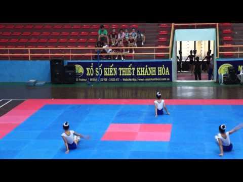 Bài thi aerobic tự chọn THCS Phan Chu Trinh  -H Diên Khánh- HKPĐ Khánh hòa 2012