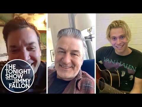 The Tonight Show: At Home Edition (Alec Baldwin, 5 Seconds of Summer)