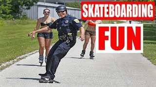 BEST FUN OF SKATEBOARDING. Try Not to Laugh Watching Amazing Tricks 2019 ep.2