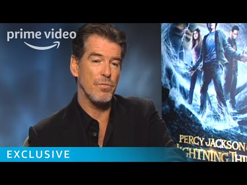 Pierce Brosnan has 007 charm | Percy Jackson | Prime Video