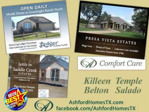 Ashford Homes Voted Best Builder In Central Texas