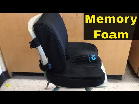 Everlasting Comfort Back And Seat Cushions-Review-Memory Foam Seat Pillows