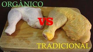 Comparando comida ORGÁNICA vs TRADICIONAL