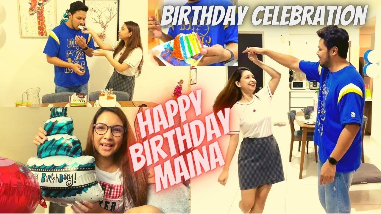 Maina Birthday Celebration | Assamese daily vlog-87