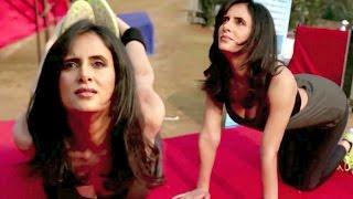 South Actress Shweta Khanduri Hot Yoga