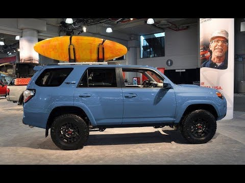 2018 toyota 4runner sr5. perfect 4runner 2018 toyota 4runner trd pro in cavalry blue  exterior shots on toyota 4runner sr5