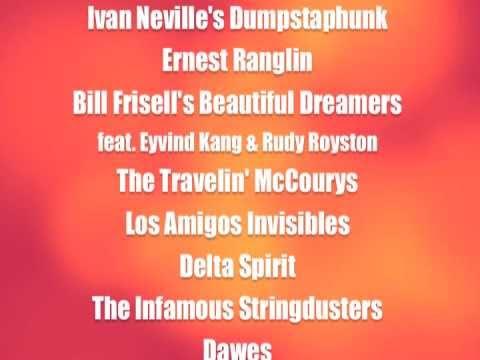 High Sierra Music Festival 2011 - Initial Lineup