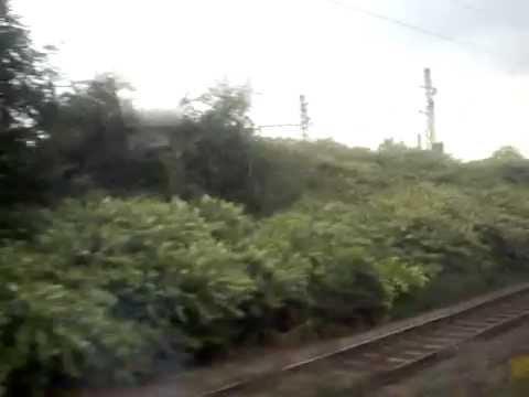 Fahrt mit der Regional Bahn von Duisburg Hbf bis zur Rheinbrücke Hochfeld