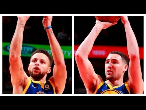 Steph and Klay Combine For 68 Pts in Win vs. Bulls   January 17, 2018