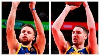 Steph and Klay Combine For 68 Pts in Win vs. Bulls | January 17, 2018
