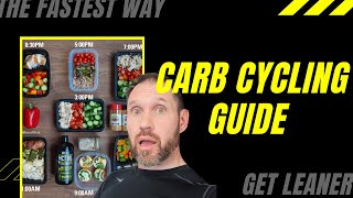 Carb Cycling Guide! The fastest way to get ripped,  stronger and build lean muscle. #muscle #fitness