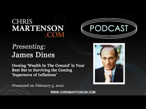 James Dines: Owning 'Wealth In The Ground' Is Your Best Bet to Survival