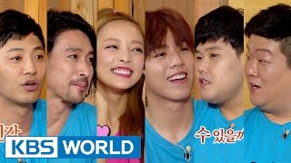 Happy Together - Gu Hara, Jin Goo, Lee Hyunwoo & more! (2015.07.02)
