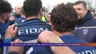 Yvelines | Versailles arrache une précieuse victoire contre Bobigny