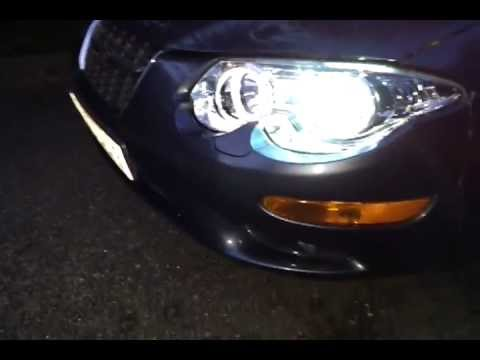 Chrysler 300m With Spyder Auto Projector Headlamps And 4300k Xenon Kit