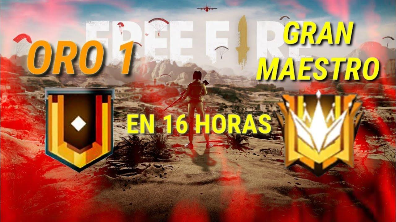 ASI LLEGUE DE ORO A GRAN MAESTRO EN 16 HORAS, ¡SIN PUNTOS DOBLES!...