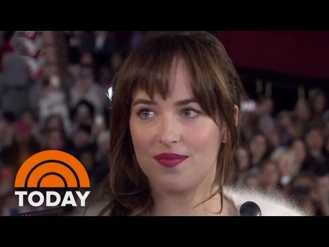'Fifty Shades of Grey' Cast, E.L. James Interview At Special Screening | TODAY