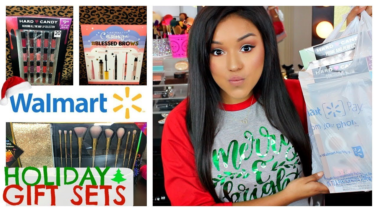 Walmart holiday gift sets haul youtube