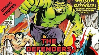 The Defenders is Peak 1970s Goofy Fun - Comic Tropes (Episode 66)