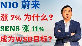 美股152: NIO蔚来涨7%为什么? SENS涨11%, 成为WSB目标? #NIO #蔚来 #SENS #WSB #Pennystock #Dr. Mike Invest 投资频道