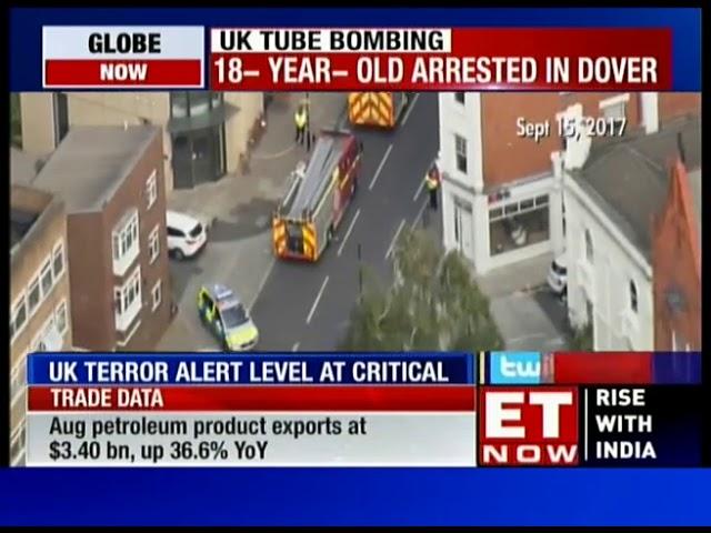 UK Police Arrest 18 Yr Old In London Train Attack Probe